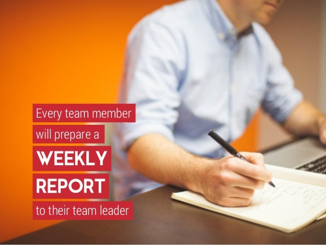 Doc454515 Weekly Report Writing How To Write A Weekly Report – Weekly Report Writing