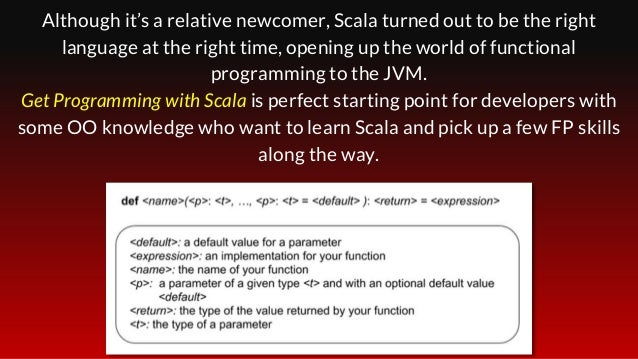 Although it's a relative newcomer, Scala turned out to be the right language at the right time, opening up the world of fu...