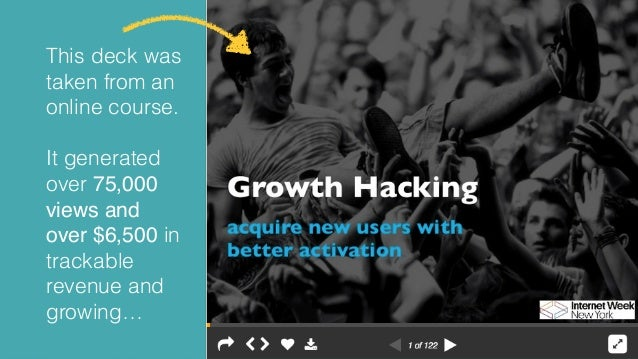 7 Ways to Grow Your Online Course with SlideShare from @conradwa Slide 3