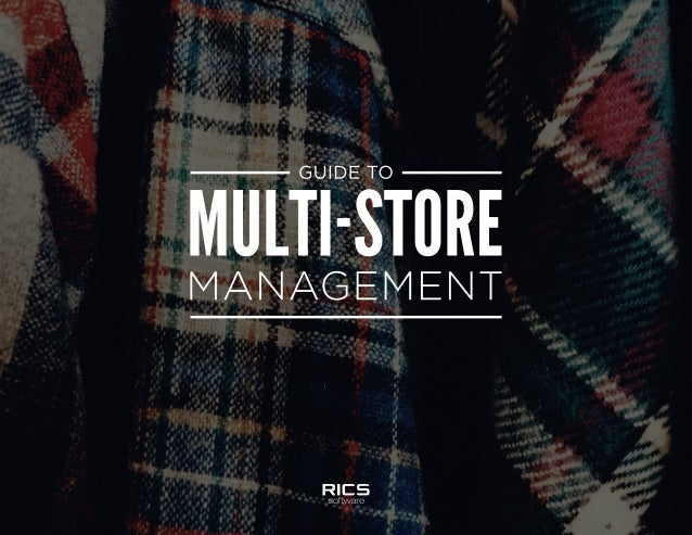What if we told you that you could effectively manage all of your stores' inventory and ROI through one intuitive system? ...
