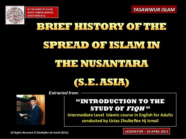 """""""""""INTRODUCTION TO THEINTRODUCTION TO THE STUDY OFSTUDY OF FIQHFIQH """""""" Intermediate Level Islamic course in English for Adu..."""