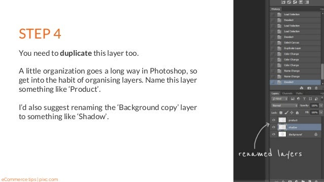 how to put a shadow on an image in photoshop