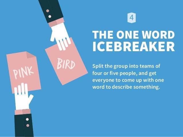 Icebreaker dating games