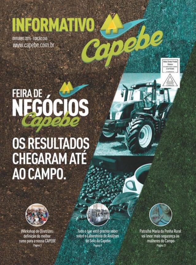 Informativo - Setembro - Capebe