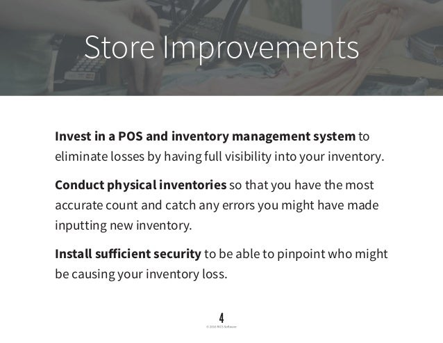 Inventory Loss Guarding Yourself Against Theft And Error
