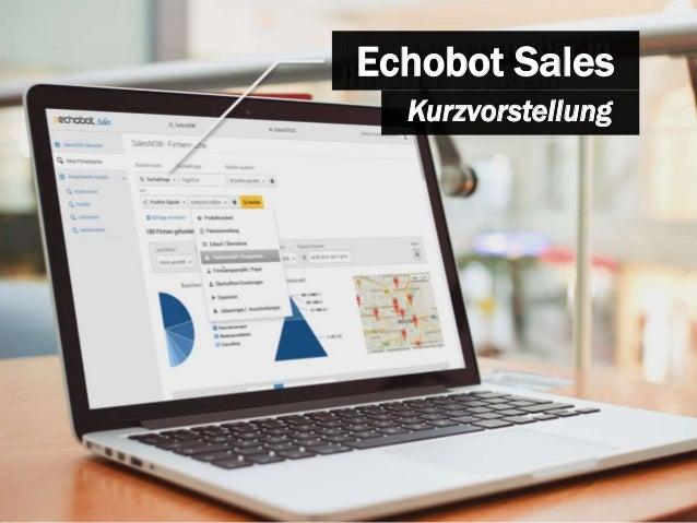 Echobot Sales  Kurzvorstellung
