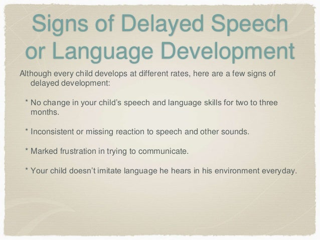 Slide share language development