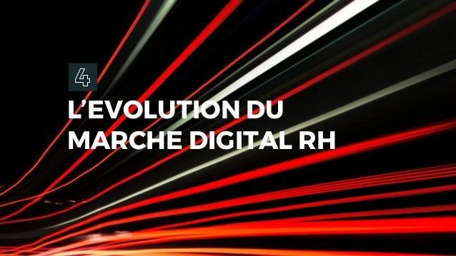 L'EVOLUTION DU MARCHE DIGITAL RH