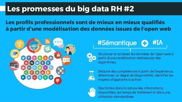 #Sémantique Les promesses du big data RH #2 Des limites dans la nature des informations disponibles, les temps de traiteme...