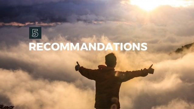 RECOMMANDATIONS