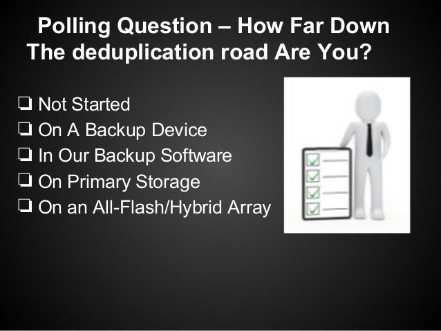 The Truth About All Flash Array Deduplication