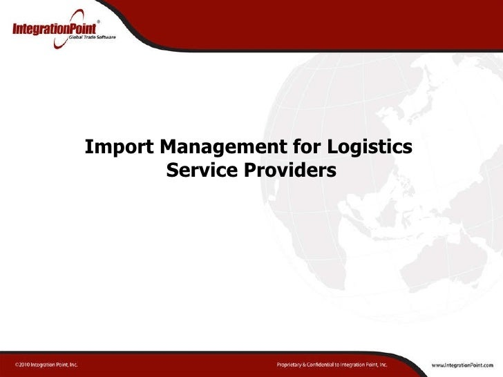 logistics service providers essay Free essays logistic service provider logistic service provider 2102 words dec 5th  effective third party logistics provider by seyed-mahmoud aghazadeh abstract the purpose of this article was to identify the steps that need to be taken when choosing an effective third party logistics provider  more about logistic service provider.
