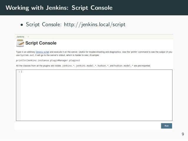 Take control of your Jenkins jobs via job DSL