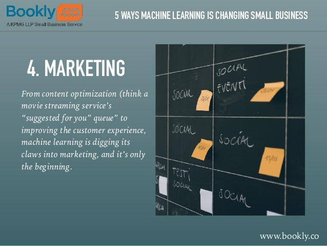 5 Ways Machine Learning is Changing Small Business