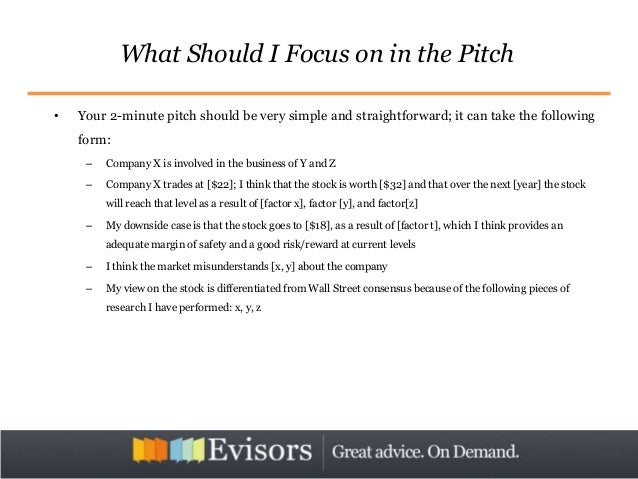 Mastering the stock pitch investing 15 maxwellsz