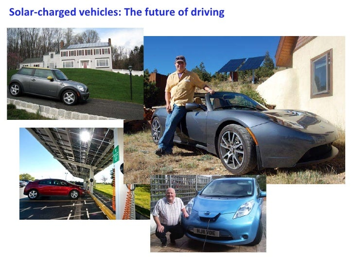 Solar-charged vehicles: The future of driving