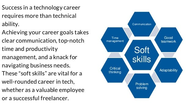 Own Your Tech Career: Soft skills you need Slide 2