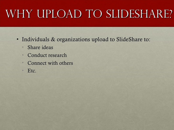 slide share ppt