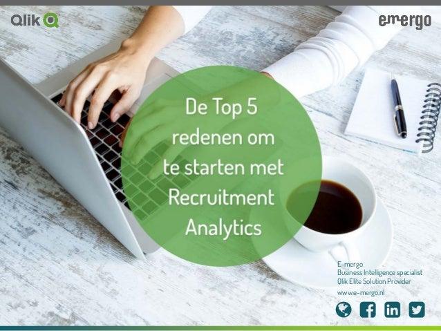 E-mergo Business Intelligence specialist Qlik Elite Solution Provider www.e-mergo.nl