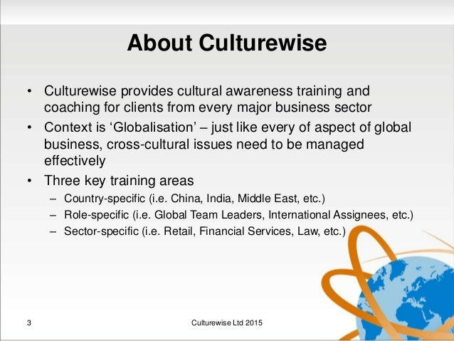 culture impact on international business Lately, international expansion has become a common technique for large businesses to grow economically however, to what extent do cultural differences impact the overall success of international business expansion, and if so, in what ways.