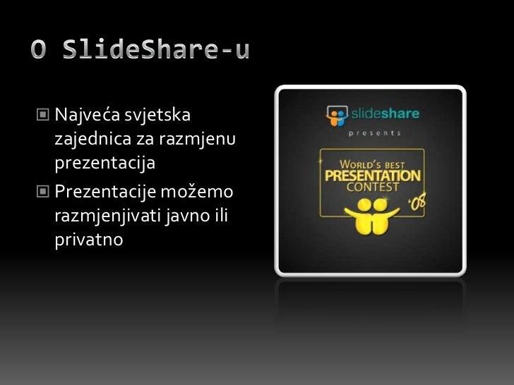 Slide share prezentacija Slide 2