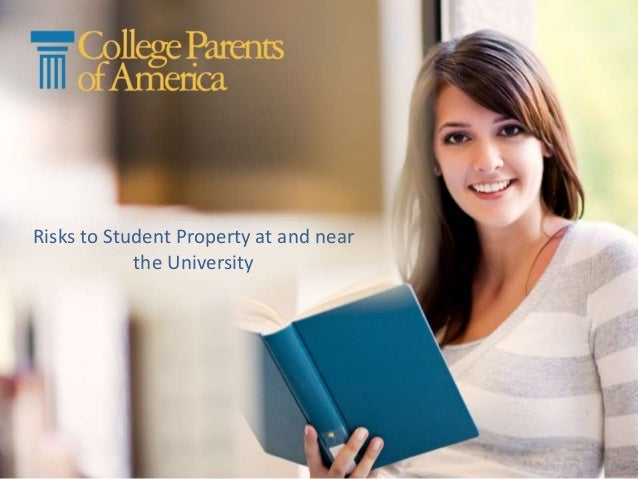 Risks to Student Property at and near the University