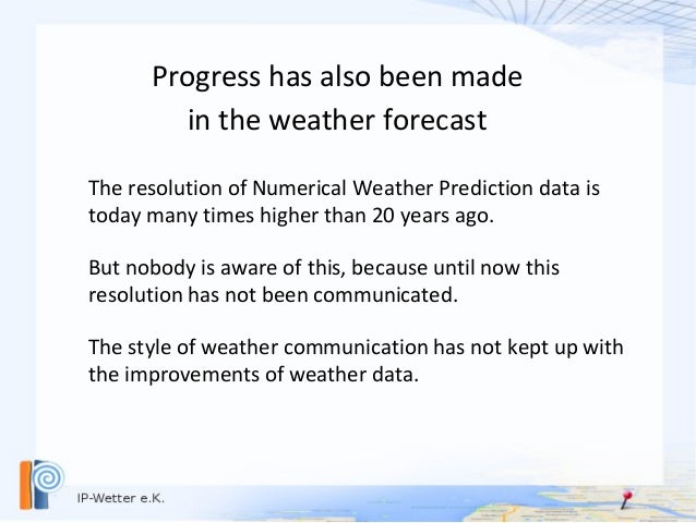 Why are weather symbols obsolete ? Slide 3