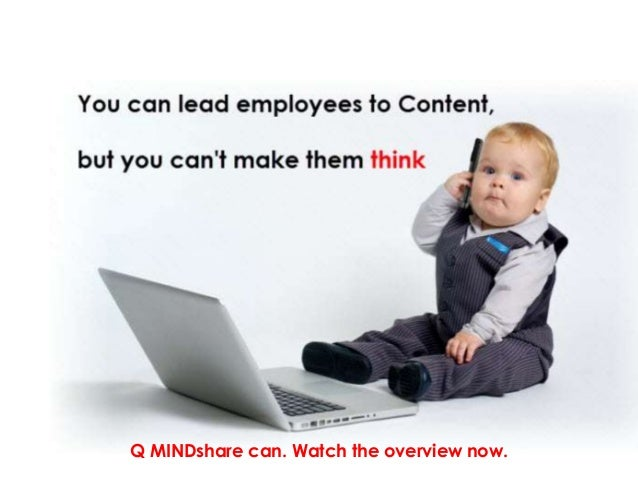 Q MINDshare can. Watch the overview now.