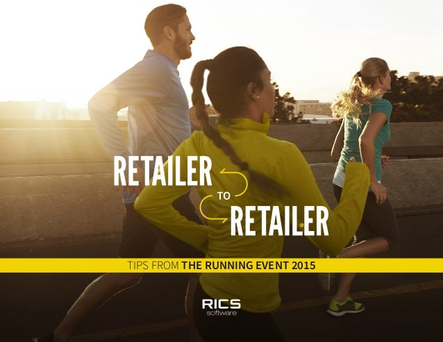 TIPS FROM THE RUNNING EVENT 2015