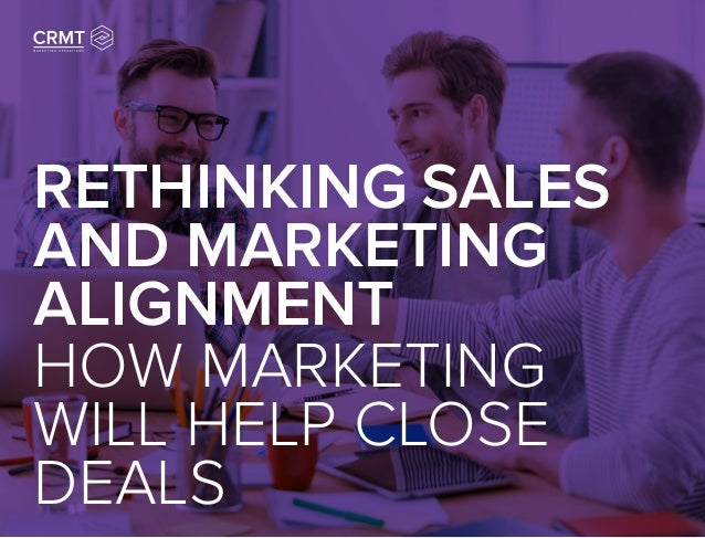 sales and marketing alignment pdf