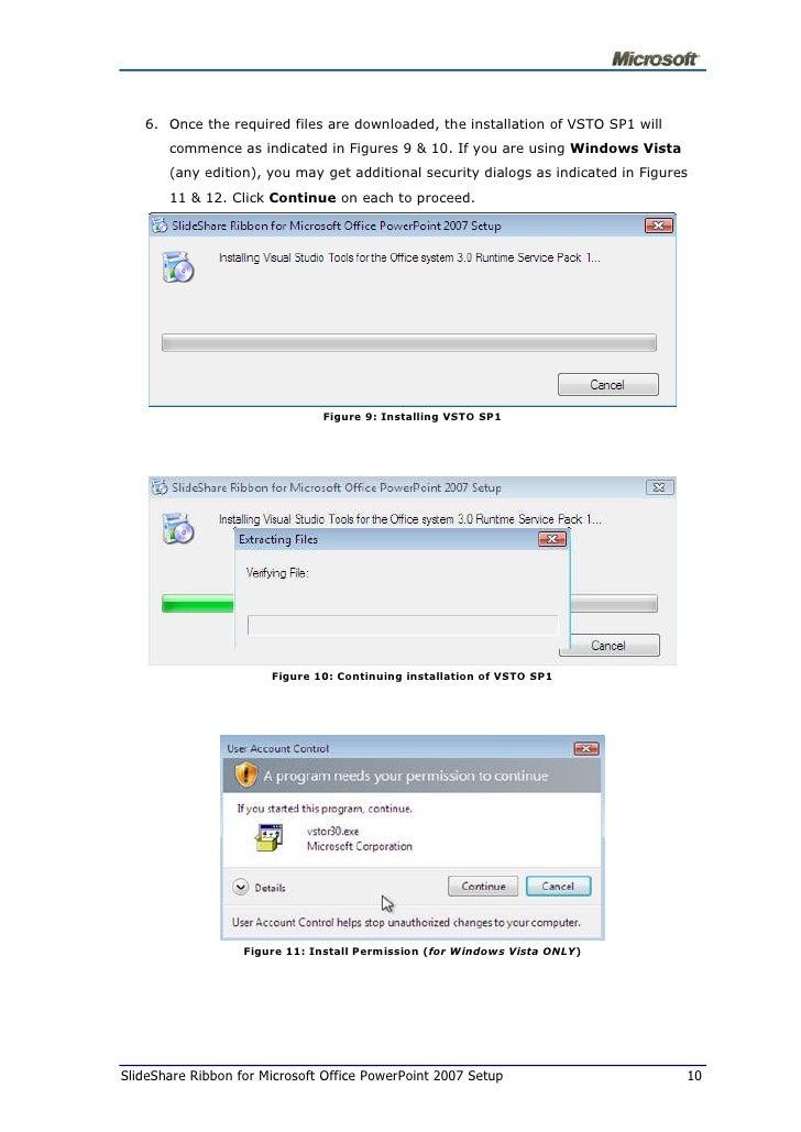 SlideShare Ribbon For Microsoft Office Power Point 2007