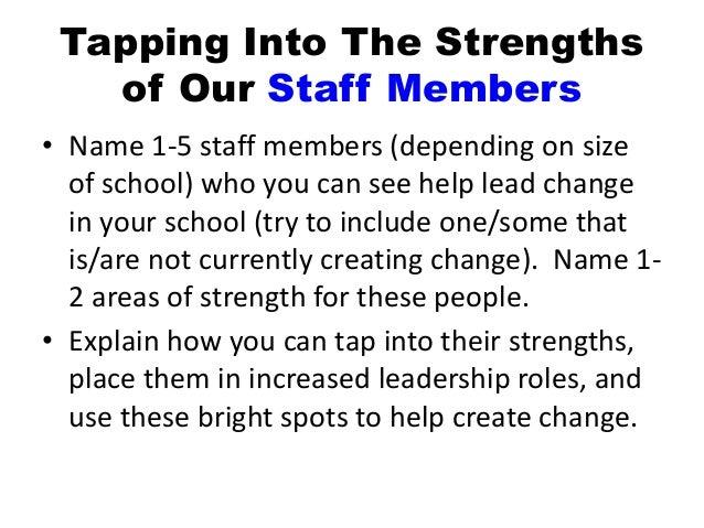 Strengths-Based Education Through Strengths-Based Leadership