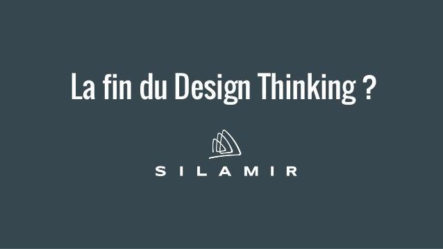 La fin du Design Thinking ?