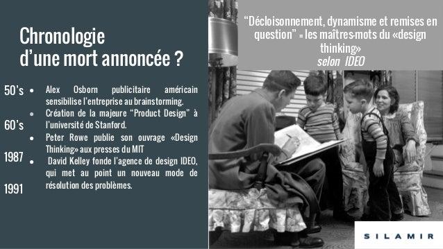 La fin du design thinking ? Silamir Slide 2