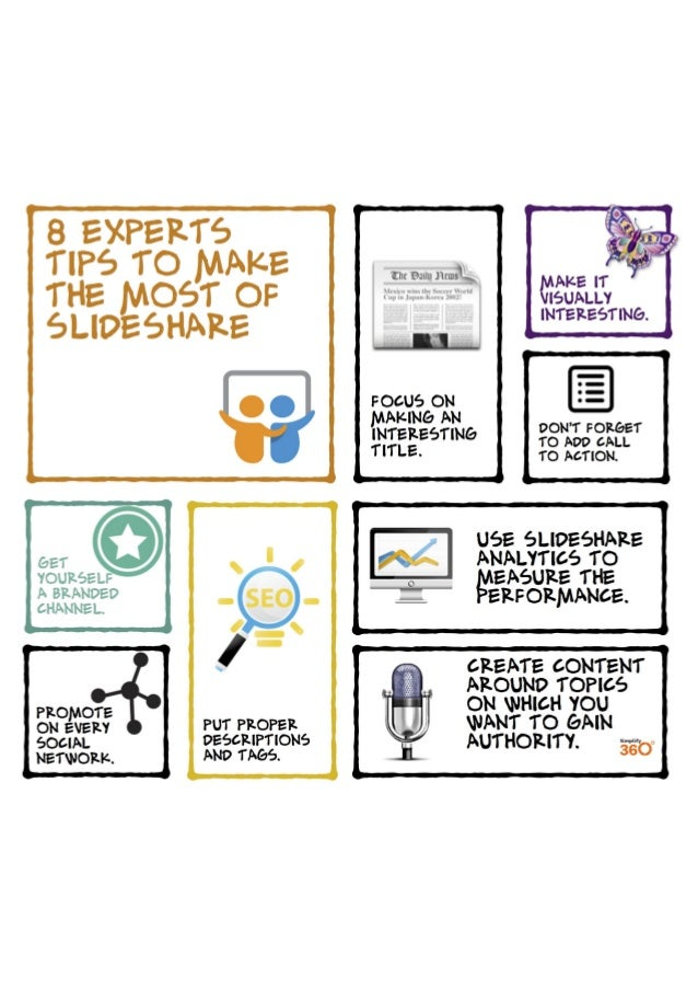 8 Expert Tips to make the most of SlideShare