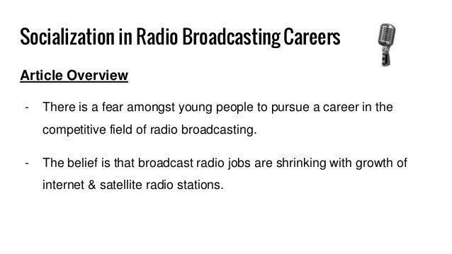 Radio Broadcasting Manager jobs