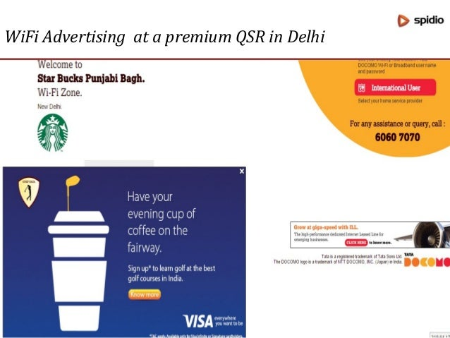 Brand: Lufthansa WiFi Advertising at Bangalore Airport
