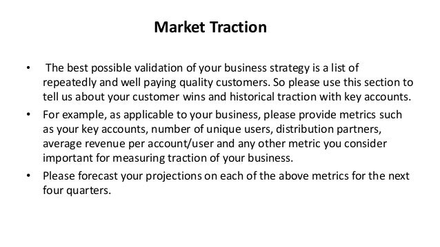 early traction startup meaning