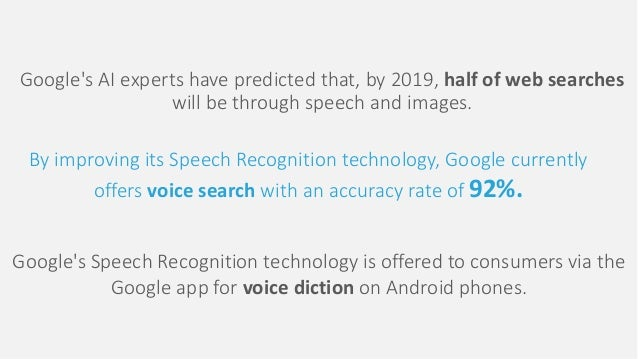 artificial intelligence for speech recognition pdf