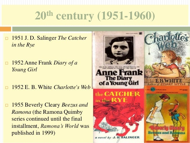 Timeline of Children's Literature 1485-2013