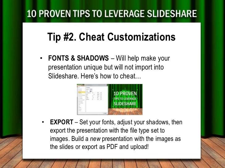10 Proven Tips for Leveraging Slideshare Slide 3