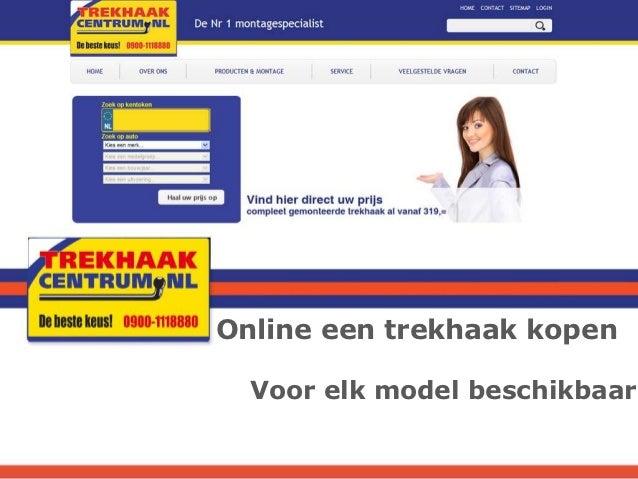 Online een trekhaak kopen  Voor elk model beschikbaar