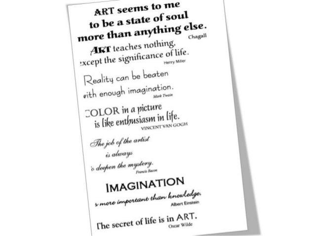 ART APPRECIATION LECTURES