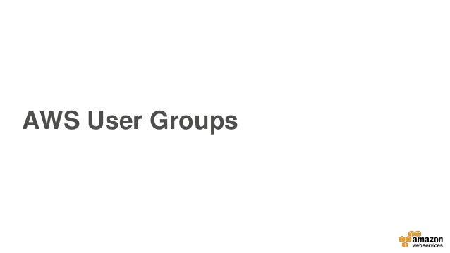 AWS User Group Singapore / Amazon Lex -- JAWSDAYS 2017 Slide 2