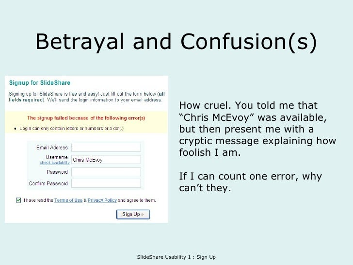 """Betrayal and Confusion(s) How cruel. You told me that """"Chris McEvoy"""" was available, but then present me with a cryptic mes..."""