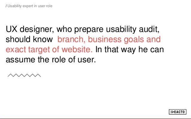 Usability audit Slide 3