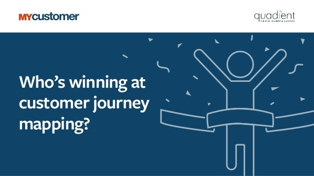 Who's winning at customer journey mapping?