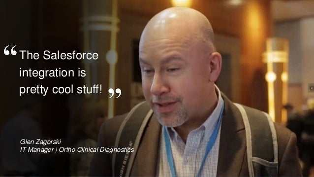 OpenText Confidential. ©2016 All Rights Reserved. 79 The Salesforce integration is pretty cool stuff! Glen Zagorski IT Man...