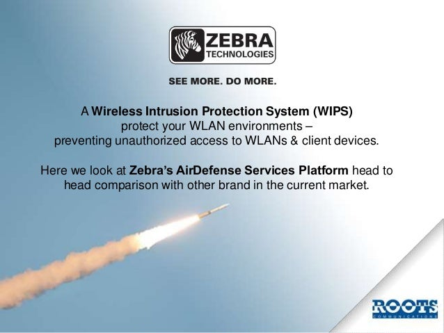 Protect Your Airspace. You control your wireless space. Not others. Slide 2