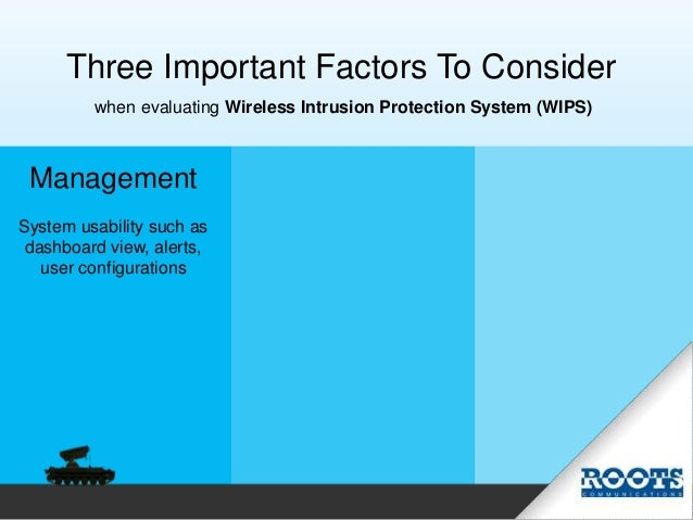 Protect Your Airspace. You control your wireless space. Not others. Slide 3
